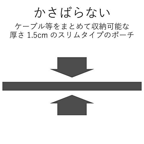 ELECOM(エレコム)『マルチ収納ポーチスリムタイプ(BMA-GP11)』