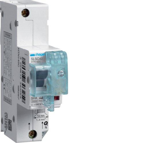 Hager HTN140C SLS-Schalter 1P Cs 40A f. Hutschiene