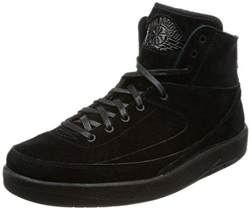 Nike Herren Air Jordan 2 Decon Gymnastikschuhe, Schwarz (Black Black), 41 EU