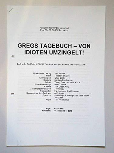 Gregs Tagebuch - Von Idioten umzingelt! Rachel Harris - Steve Zahn - Presseheft