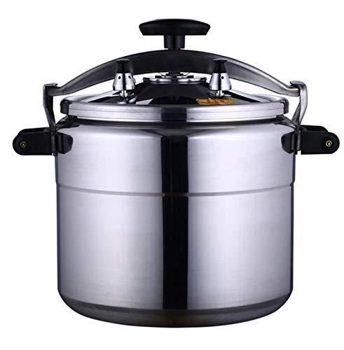 BLHZPD Aluminiumlegierungsdruckkocher explosionsgeschützter Haushaltsdruckkocher Küche Slow Cooker Steamer Suppentopf 3L-11L (Color : Silver, Size : 7L)