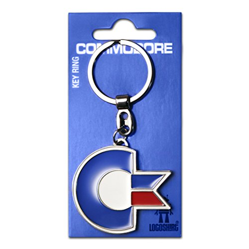 Official Commodore 64 Logo Keyring