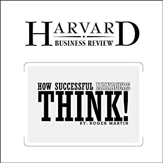 How Successful Managers Think (Harvard Business Review) audiobook cover art