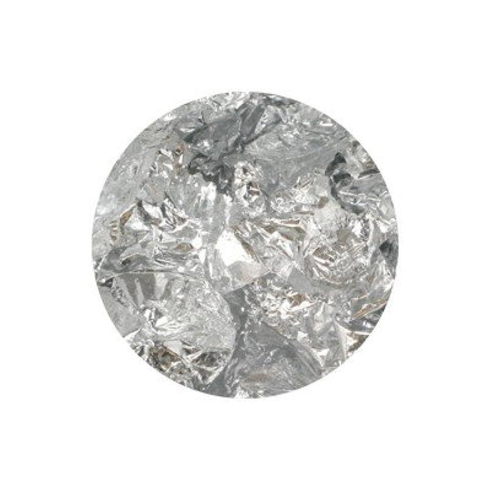 ねばねば開いたマージボンネイル 銀箔