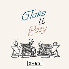 SHE'S「Take It Easy」のCDジャケット