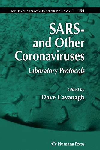 SARS- and Other Coronaviruses: Laboratory Protocols (Methods in Molecular Biology)