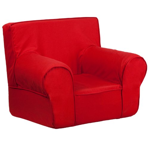 Flash Furniture Small Solid Red Kids Chair mobile product short list 6