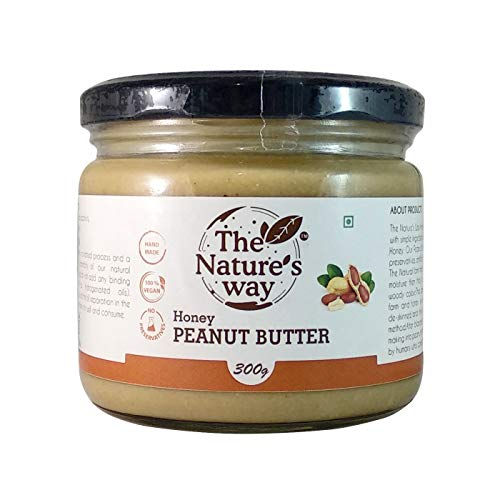 The Natures Way Honey Peanut Butter Natural 300 G