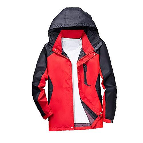 N\P La primavera y el otoño al aire libre traje de tormenta Casual Chaqueta de los Hombres de la Capa de los Hombres Delgado Grande Deportes al aire libre Traje