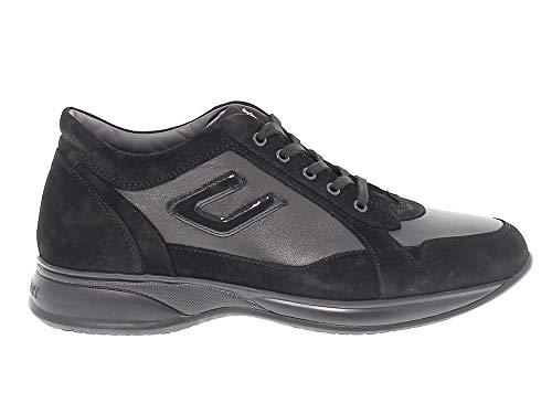 Cesare Paciotti 4Us Sneakers Uomo 4Uscu3ca Camoscio Nero