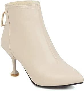 BalaMasa Womens ABS14047 Pu Boots