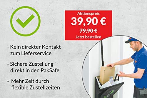 PakSafe Paketbriefkasten/Paketsack inkl. Versicherung - 2