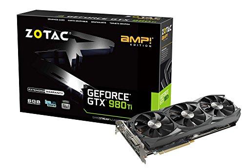 ZOTAC GTX 980 Ti AMP Edition グラフィックスボード NVIDIA GeForce GTX 980Ti搭載 VD5748 ZTGTX98TI-6GD5AMP01