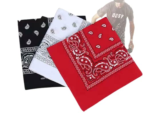 3 pack multi purpose bandanas