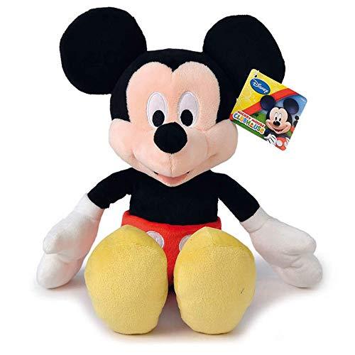 Topolino peluche Mickey Mouse Disney Classico Pupazzo - 45 Cm
