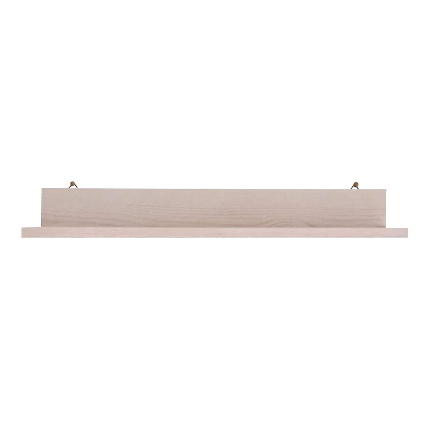 命令的斧同一の日常の空間をお洒落に可愛く 飾り棚 壁掛け シェルフ ウォール ラック 4 (ホワイト)