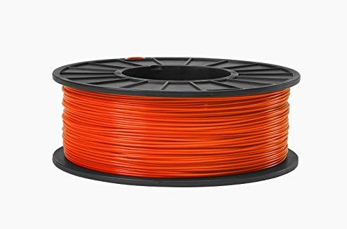 ABS 3D Filament 1.75mm Diameter - Safety Orange -1kg