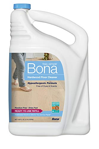Bona Free & Simple Hardwood Floor Cleaner, 128 oz