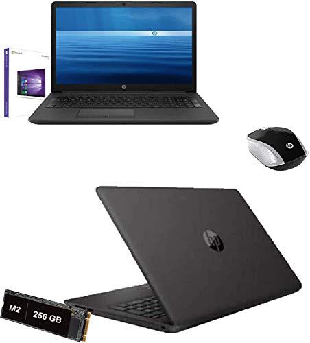 portátil HP Amd 3020e de 2,6 GHz, pantalla de 15,6 pulgadas, HD, RAM de 8 GB, DDR4, SD de 256 GB M2, HDMI, USB 3.0, WiFi, LAN, Bluetooth, ratón, Webcam, Windows 10 Pro