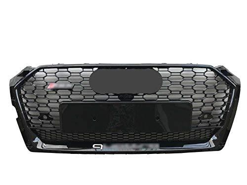 Xinshuo Rejilla del radiador del frente del acoplamiento del tipo del panal del ABS para RS5 Style A5 / S5 2017-2019