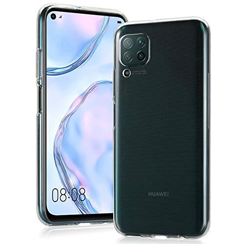 Huawei P40 Lite的Wonanse保护套,超薄优质防震透明耐用TPU软胶,带[防划伤] [防摔保护] Huawei P40 Lite的保护套[6.4inch] [清除]