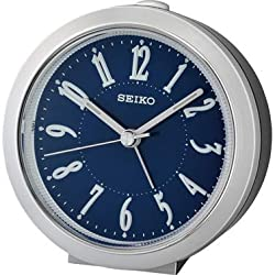 Seiko Bedside Alarm Clock with Quiet Sweep Second Hand QHE180S …