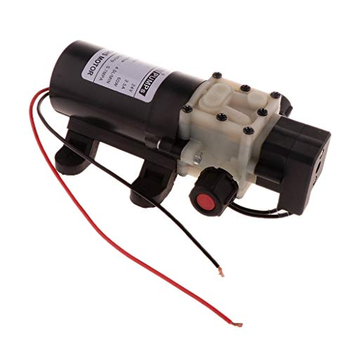 Fenteer Durable 4.54L / Min 0.7Mpa Bomba de Agua Eléctrica de Presión Pulverizador de Agua con Micro Diafragma - 24V
