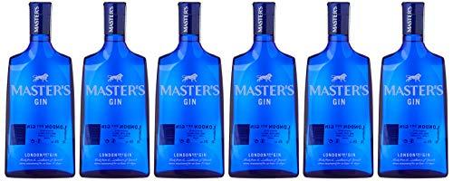 Gin Masters dry gin, vol. 40%, 6 botellas x 700ml - Total: 4200ml