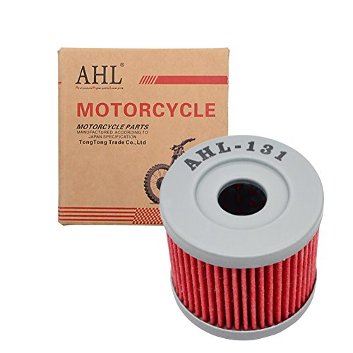 AISEN Air Filter with Oil Filter Spark Plug for Yamaha TW 125 TW 200 Trailway 5EK 5RS 1999-2004 Replaces Hiflo HFA 4202 HF143