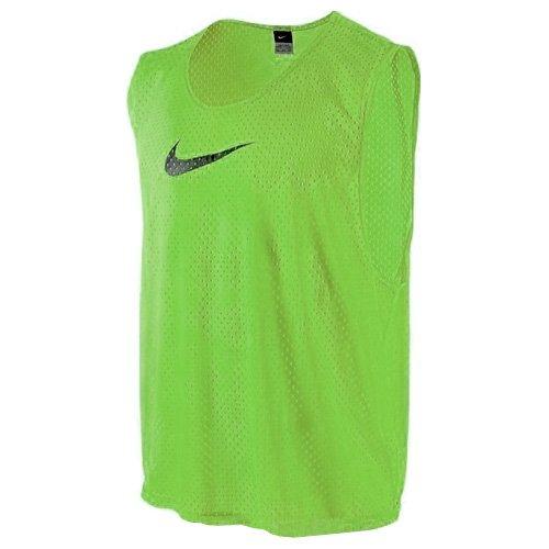 Nike Herren Team Scrimmage Swoosh Vest Trainings-Leibchen, Action Grün/Schwarz, L/XL
