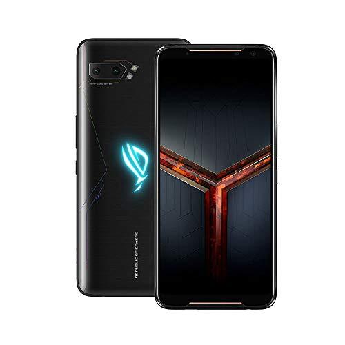 ASUS ROG Phone II (ZS660KL) 6.59 FHD+ Display Smartphone, Qualcomm Snapdragon 855+ / 2.96GHz Octa-core Processor, 12GB RAM, 512GB Storage, Android 9.0 - Black - ZS660KL-1A034EU
