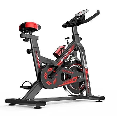 WOERD Bicicleta Estática Spinning Indoor Bici Profesional Fitness con Monitor De Frecuencia Cardiaca, Volante de Inercia Y Bidón de Agua. Speedbike Soporta hasta 150 KG