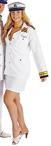 Kapitän Lady Kostüm für Damen Gr. 44