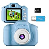 Kids Camera Toys for 4-8 Year Old Boys Toddler Rechargeable Cameras with 2 Inch IPS Screen for Children Birthday Gift Idea by Coodoo(Free 16GB Memory Card Included) 1