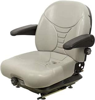 MILSCO Gray Suspension SEAT FITS Hustler,EXMARK,Toro,Bobcat,Dixie Chopper,Zero Turn #OH