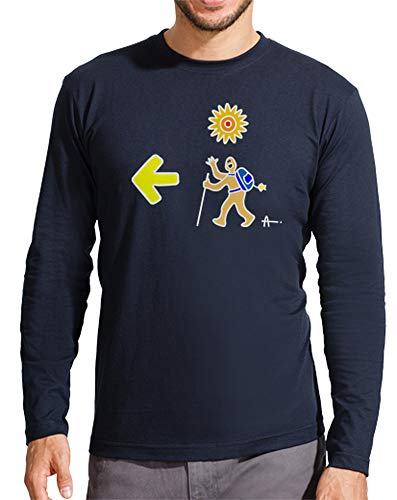 latostadora - Camiseta Santiago Pie b para Hombre
