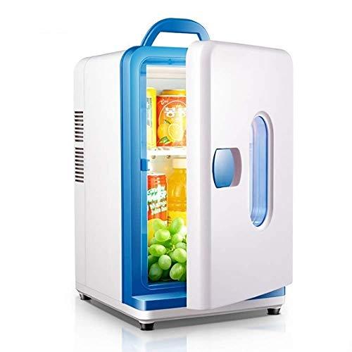 LMDC 12 litros adecuado for todas las ocasiones, minirefrigerador de refrigerador de doble uso for automóvil multifunción, el trabajo de bajo decibelio es muy silencioso, for satisfacer las necesidade