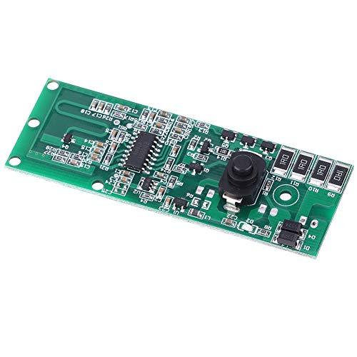Módulo controlador de lámpara solar, inducción de radar de microondas sensible de 26 x 84 mm / 1 x 3,3 pulgadas con interruptor para luces solares para uso industrial