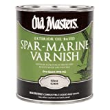 OLD MASTERS 92304 Spar Marine Varnish, Satin by Old Masters