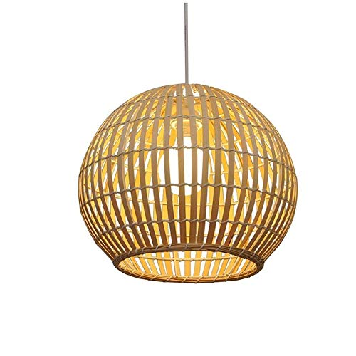 Geweven Bamboe Chandelier Restaurant Tea Restaurant Bamboo Chandelier Balkon Japanse Stijl Lighting Living Room Lamp Bamboo Art Lamp Ball Restaurant Chandelier,Beige,S