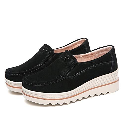 Frauen Flache Größe dicken Boden flach flach Frühling lässig Damen Turnschuhe Schuhe Mokassin Schuhe Damenschuhe