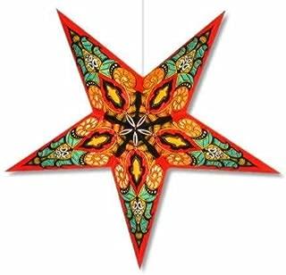 Star Lights - Red Mango Paper Star Lamp/Lantern
