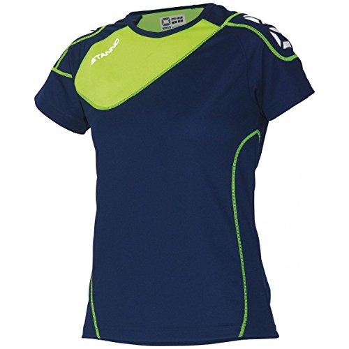 Stanno Montreal T-Shirt Damen - navy-lime, Größe Stanno:S