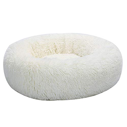 LOL lo Huisdier Kalmerende Bed Sjaal Donut Knuffel Katten Hond Slapende Mat Winter Comfortabele Bed