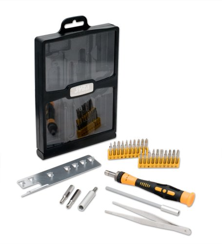 Syba Precision Tool Kit for Repairing Xbox, Wii and PlayStation Game Consoles Smart Phones Electronics Screwdrivers Bit Sets