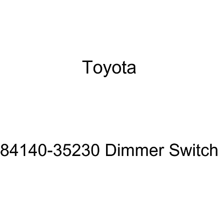TOYOTA 84140-35230 Dimmer Switch
