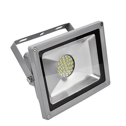 ALPHA DIMA 30W SMD Fluter LED Strahler Kaltweiß Licht IP65 Wasserdicht LED Lampe Wandleuchter Flulicht Flutbeleuchtung LED Gartenlampe Außenstahler