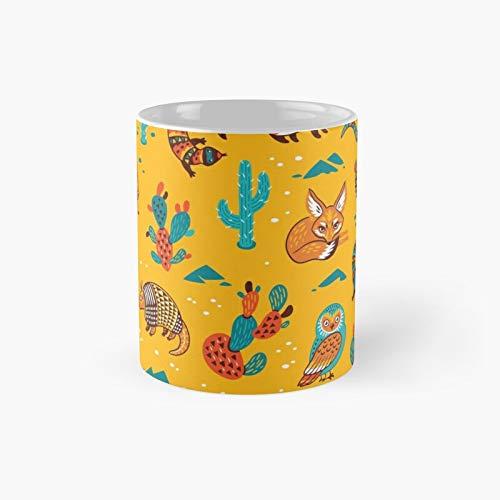Desert Animals Classic Mug Best Gift Funny Coffee Mugs 11 Oz