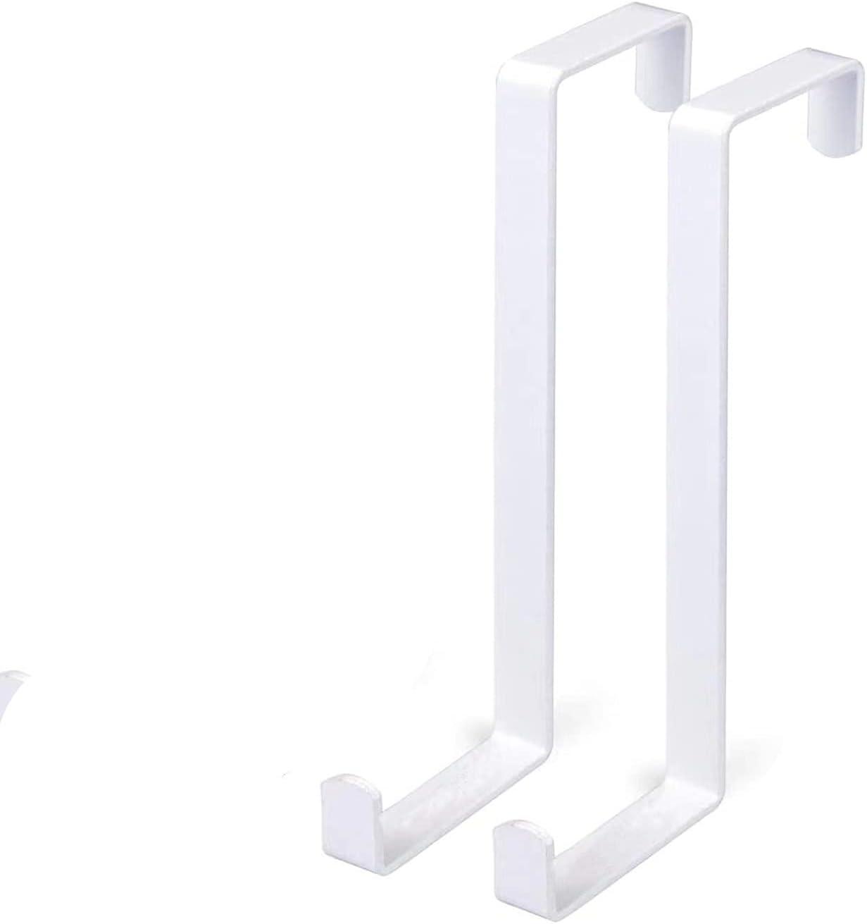 HEIGOO Nippon regular agency 2 Pcs Over The Door Inch Sturdy Reversible Hook,3.5 Max 74% OFF