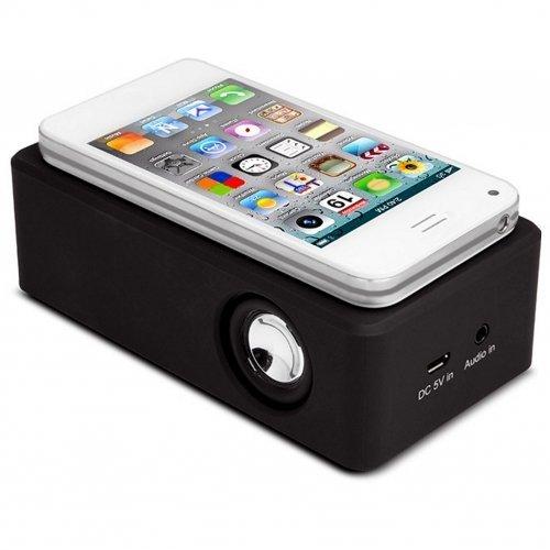 g8ds® Universal Handy Lautsprecher Cool Box mit Nahfeld Technik Nearfield
